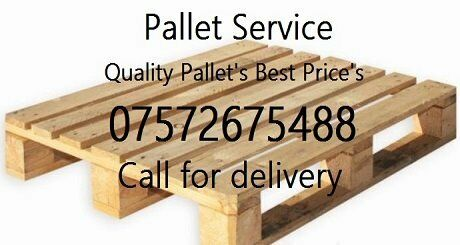 Quality Euro Pallets GBP5