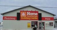 Sales Associate/Cashier Whitemouth Home Hardware Building Centre
