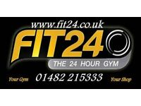 Fit24 - The Only City Centre 24hr Gym- You Will Be Amazed - More Then Just A Gym !
