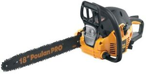 Poulan Chainsaw (used once)
