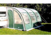 Sunncamp platinum ultima 390 caravan porch awning