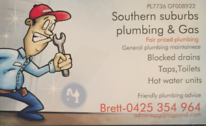 Southern suburbs plumbing & gas Munster Cockburn Area Preview