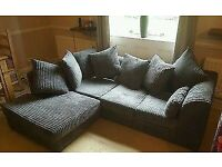 ** CASH ON DELIVERY ** BYRON JUMBO CORDED CORNER SOFA OR 3+2 SOFA SET AVAILABLE NOW IN STOCK
