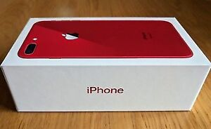 APPLE IPHONE 8 PLUS 64GB RED COLOUR  UNLOCK WITH APPLE WARRANTY