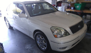 2001 Lexus LS 430 Certified & E-Tested