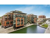 2 bedroom interior designed apartment located in Merchant square, W2