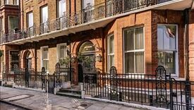 Studio flat in Cedar House,Nottingham Place, Marylebone, London, W1U