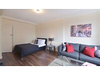 Massive 5th floor modern studio apartment in the heart of Mayfair. Furnished & close to transport.