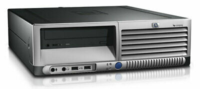 HP Compaq dc7700 Core 2 Duo 2GB DVD Desktop PC Computer ()