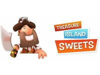 On-Line Sweet Shop (Treasure Island Sweets) Requires Trainee Assistant Supervisor / Order Fullfiller