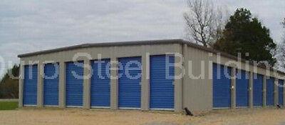 Duro Steel Mini Self Storage 20x120x10 Metal Building Prefab Structure Direct