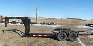 CLEAR OUT - 2015 Majestik L270 18ft Gooseneck Tilt Trailer-1957