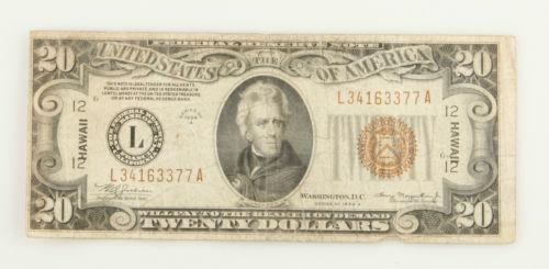 1934 20 Dollar Bill | eBay