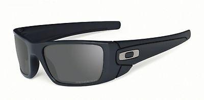 OAKLEY Fuel Cell Polarized Sunglasses Matte Black Frame/Grey Polarized Lens