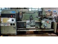 WARD MODEL 10C PRELECTOR LARGE BORE TURRET LATHE YEAR 1978