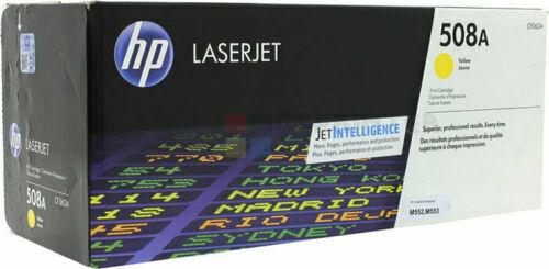 New Genuine OPEN BOX HP 508A Yellow Laser Toner Cartridge CF362A