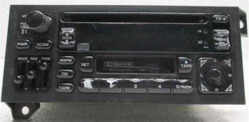2002 jeep wrangler radio ebay. Black Bedroom Furniture Sets. Home Design Ideas