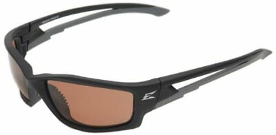 EDGE EYEWEAR - TSK215 Kazbek Matte Black Safety Glasses w/ P
