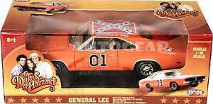 Dukes Of Hazzard GENERAL LEE 69 DODGE 1:18 Diecast Model Car