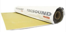 Tecsound SY 50 Self- Adhesive Acoustic Membrane soundproofing - Walls, floors, ceilings, cars, boats