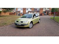 for sale Renault Megane 54 plate 1.4 petrol MOT till February next year cheap tax cheap insurance