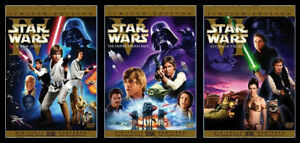 Limited Edition UNEDITED Star Wars Trilogy Widescreen DVD Set