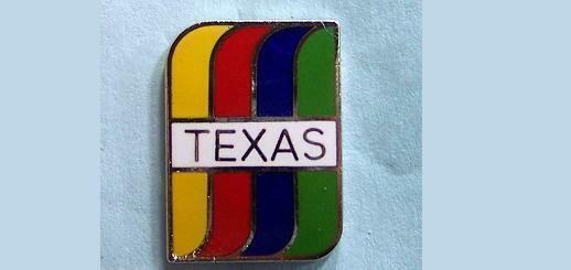 TEXAS Rainbow Pin