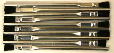 Flux Acid Patina Brush Brushes - Stained Glass (10)