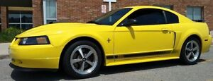 2003 Ford Mustang Mach 1 Zinc Yellow 15,000 orig km MINT