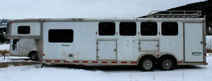 All Aluminum 4 horse Trailer Charmac Legacy Totally Loaded!!