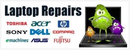 Laptop Repairs & Screen Replacements Forrestfield Kalamunda Area Preview