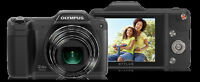 Olympus SZ-15 Digital Camera - Black