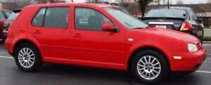 2003 Volkswagen GOLF  (Negotiable - Must be sold ASAP!)