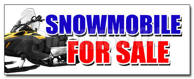 Snowmobile For Sale Decal Sticker Snowmachine All Brands Financing Sale