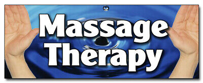 12 Massage Therapy Decal Sticker Therapist Table Pt Physical Therapy Back Ache