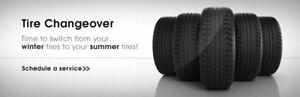 Quick! Tire Rim Swap & Flat Tire Change @ your location