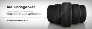 Summer Tire change Over starting at $50, depending on your locat