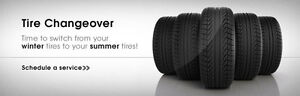 $40 Tire Rotation Changeover Flat Tire Change @ your Location