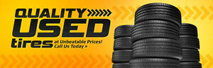 QUALITY USED TIRES,FLAT REPAIR,TIRE SWAP STARTS FROM 10$