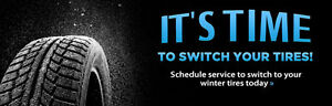Winter tire change overs after hours no appointment St. John's Newfoundland image 1