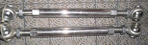 """4 - 3/4"""" ROD ENDS WITH 1.13"""" O/D THREADED ALUMINIUM TUBE Belleville Belleville Area image 6"""