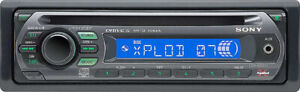 SONY CDX-GT210 Radio AM/FM/CD/MP3/WMA