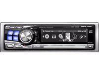 Alpine High Spec Headunit - MP3, iPod, 3way Crossover EQ, Car Stereo Pioneer JL audio 9855r