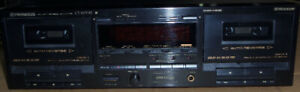 Double Cassette Deck Pioneer CT-W701R, Made in Japan, as new