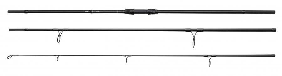 DAM MAD XT1 3,60m / 3,00lbs Karpfenrute 3-teilig mit 50er Startring Karpfenangel