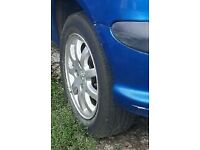Peugeot 206 gti alloy wheels