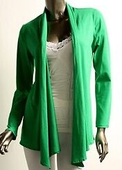SOFT LONG FLOWING OPEN CARDIGAN SWEATER WRAP WOMENS LADIES USA MADE