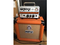 Orange Micro Terror Valve Amplifier with 8inch cab included
