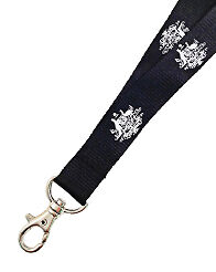 Australian Coat of Arms lanyard - Swivel clip with safety breakaway clip.