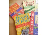 4 Roald dahl classic books (Charlie/Matilda/BFG/MagicFinger)